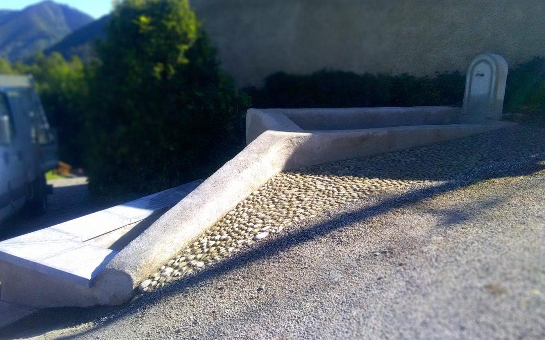 Sentenac d'Oust – Rénovation d'un lavoir