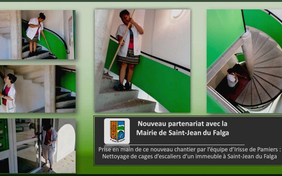 Un nouveau partenariat avec la Mairie de Saint-Jean-du-Falga !