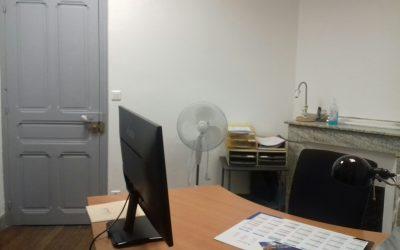 Rafraîchissement des bureaux d'Irisse