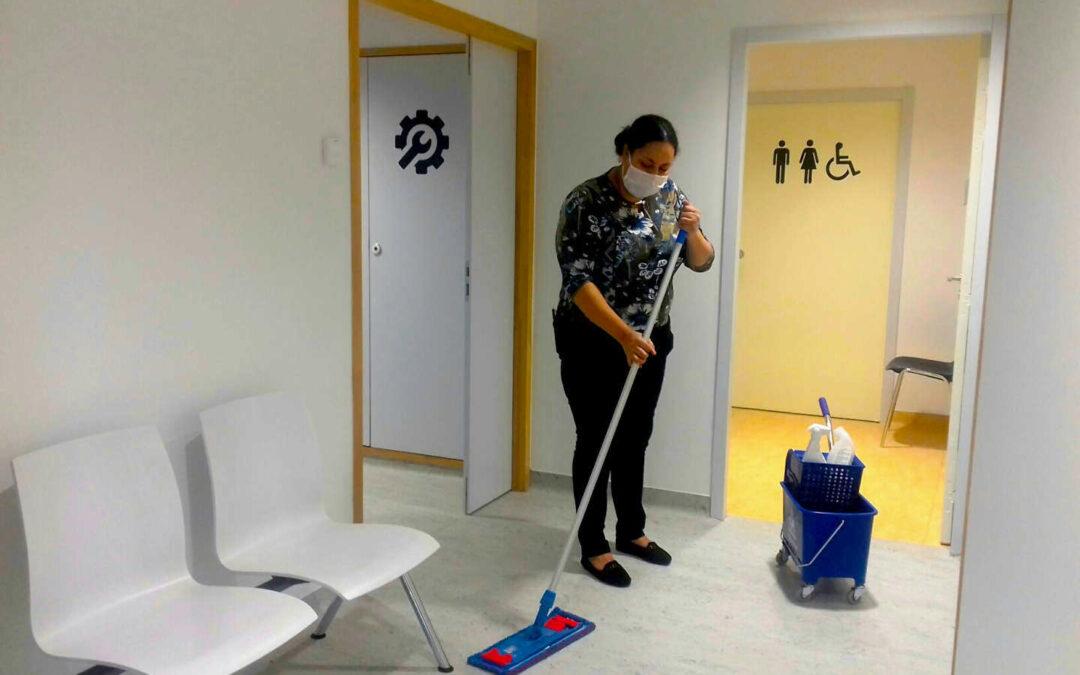 Irisse prend soin de la nouvelle Maison de Santé
