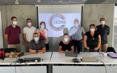 Regroupement des dirigeants des structures du groupe  Occitanie CEDRE ISO 9001.